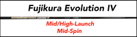 Fujikura Speeder Evolution IV: Mid/High-Launch  Mid/High-Spin Custom Golf Shaft FREE Factory Adapter Tip!!!