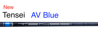 Mitsubishi Tensei AV Blue: Mid-Launch & Mid-Spin Custom Golf Shaft FREE Factory Adapter Tip!!!