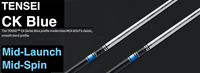 Mitsubishi Tensei CK Blue: Mid-Launch & Mid-Spin Custom Golf Shaft FREE Factory Adapter Tip!!!