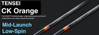Mitsubishi Tensei CK Orange: Mid-Launch & Low-Spin Counterbalanced Custom Golf Shaft FREE Factory Adapter Tip!!!