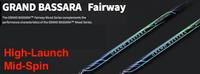 Mitsubishi Grand Bassara Fairway: High-Launch & Mid-Spin Custom Golf Shaft FREE Factory Adapter Tip!!!
