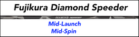 Fujikura Diamond Speeder: Mid-Launch Mid-Spin Custom Golf Shaft FREE Factory Adapter Tip!!!