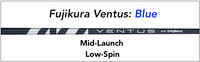 Fujikura Ventus Blue: Mid-Launch Low-Spin Custom Golf Shaft FREE Factory Adapter Tip!!!