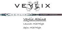 Veylix Alpina Rainbow Colorway: High-Launch & Mid-Spin Custom Golf Shaft FREE Factory Adapter Tip!!!