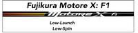 Fujikura Motore X F1: Low-Launch Low-Spin Custom Golf Shaft FREE Factory Adapter Tip!!!