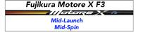 Fujikura Motore X F3: Mid-Launch Mid-Spin Custom Golf Shaft FREE Factory Adapter Tip!!!