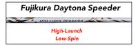 Fujikura Daytona Speeder: High/Mid-Launch Low-Spin Custom Golf Shaft FREE Factory Adapter Tip!!!