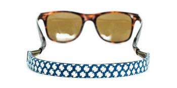 Lattice Design Needlepoint Sunglass Strap