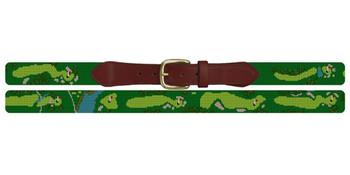 Gulph Mills Golf Club Needlepoint Belt
