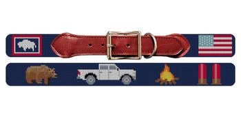 Custom Needlepoint Dog Collar
