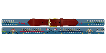 Crew Needlepoint Belt