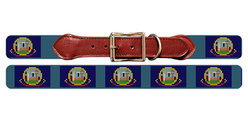 Idaho Flag Needlepoint Dog Collar