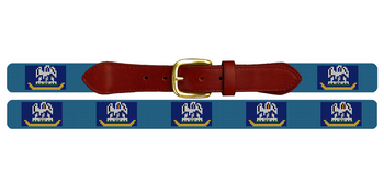 Louisiana Flag Needlepoint Belt