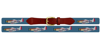 War Planes Needlepoint Belt