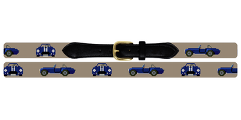 Shelby Cobra Needlepoint Belt