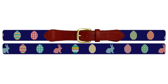 Easter Needlepoint Belt