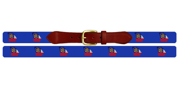 Georgia State Needlepoint Belt