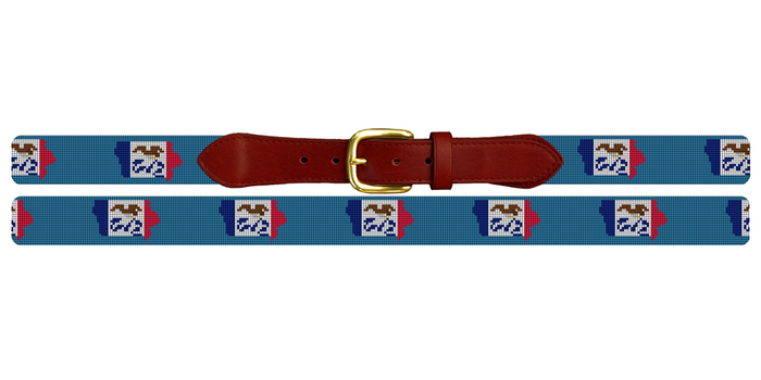 Iowa State Needlepoint Belt