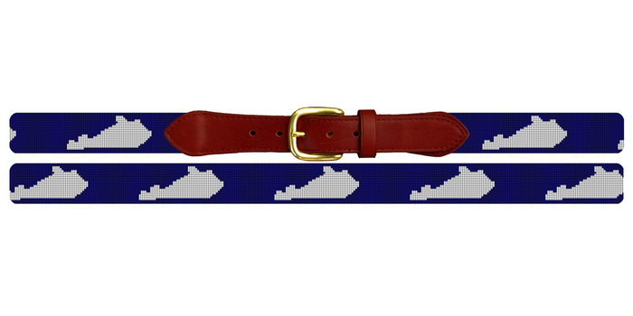 Kentucky State Needlepoint Belt
