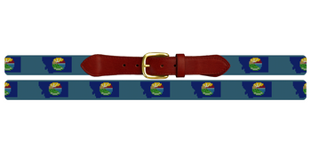 Montana State Needlepoint Belt