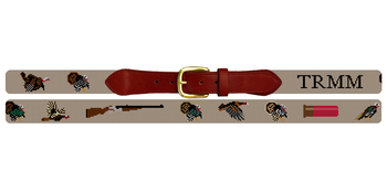 Grand Slam Turkey Needlepoint Belt