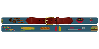 BBQ Needlepoint Belt