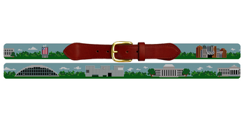 MIT Campus Needlepoint Belt