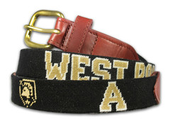 Army West Point Needlepoint Belt