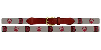 Bates College Bobcats Needlepoint Belt
