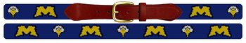 Morehead State University Needlepoint Belt
