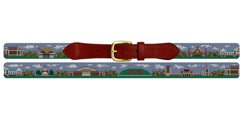 College Park Maryland Landscape Needlepoint Belt University of Maryland