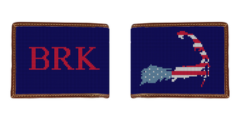 Cape Cod Needlepoint Wallet