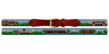 Richmond Virginia Landscape Needlepoint Belt University of Richmond