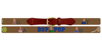 Grandpa's Needlepoint Belt