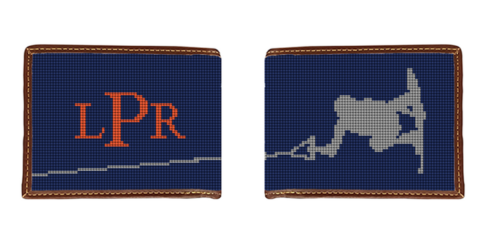 Wakeboard Needlepoint Wallet