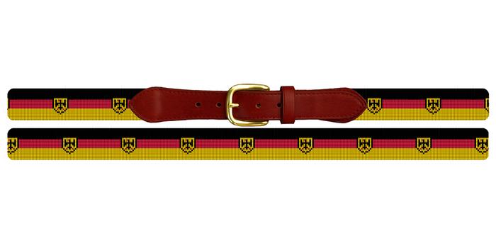 German Flag Needlepoint Belt