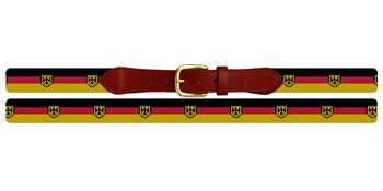 German Flag Needlepoint Belt