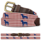 Yellow Lab Printed Belt