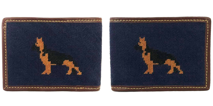 Shepherd Needlepoint Wallet
