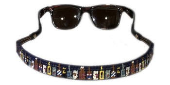 Beer Bottles Needlepoint Sunglass Strap