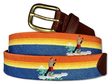 SUP Stand Up Paddle Board Needlepoint Belt