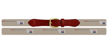 Custom Crew Team Needlepoint Belt