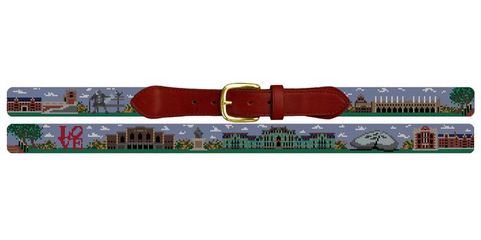 University of Pennsylvania Needlepoint Belt
