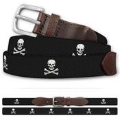 Jolly Roger Pirate Classic Cotton Belt