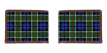 Perfectly Plaid Needlepoint Wallet