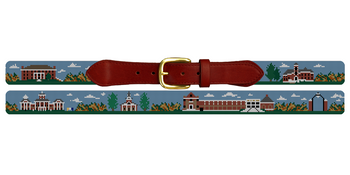 Wabash College Needlepoint Belt