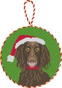 Boykin Spaniel Needlepoint Christmas Ornament