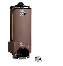 American Standard ULN 100-250 AS  Water Heater - 100 Gallon Commercial Gas 250,000 BTU - 4 Year Warranty.  ULN Models intended for CALIFORNIA and TEXAS