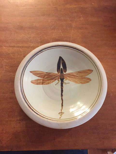 Dragon Fly Motif for the Flatware-Lunch Plate Plate-$25