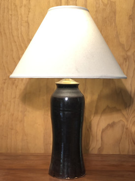 *Lamp-Brown Glaze -2 -Mem. Day Sale Special-FREE SHIPPING!-Harp is included but No Shade